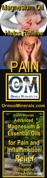Ormus Minerals Advanced Magnesium & Essential Oils for Pain and Inflammation Relief